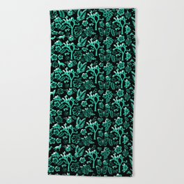 Joshua Tree Verde by CREYES Beach Towel