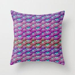 Dragon Scales Throw Pillow