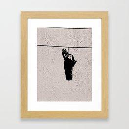 The Shoeline Framed Art Print