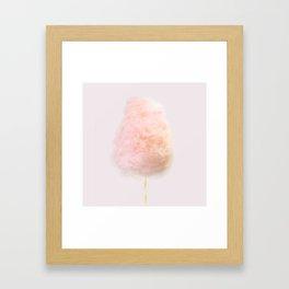 Cotton Candy Art Framed Art Print
