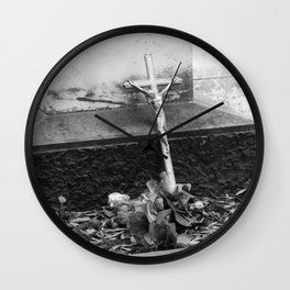 old cross Wall Clock
