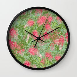 Grevillea Robyn Gordon Wall Clock