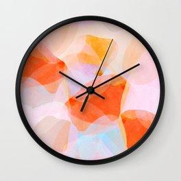 peaches Wall Clock