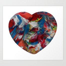 Its Just Emotions Art Print