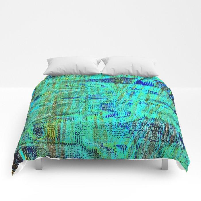 Hidden Peacock Comforters