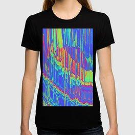 Iridescent Cosmic Rays Pop Art T-shirt