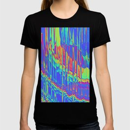 Iridescent Cosmic Rays Pop Art T-shirt