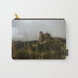 Foggy Mountaintop at Lost Mine Trail, Big Bend Carry-All Pouch