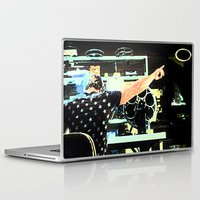 tyler durden Laptop & iPad Skins featuring What Would Tyler Durden Do by Jay Joseph