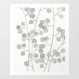 Plant Pattern #3 Art Print