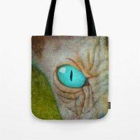 sphynx Tote Bags featuring Sphynx by BruceStanfieldArtist.DarkSide