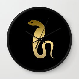 Ancient Egyptian snake – goddess Renenutet Wall Clock