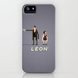 Pixel Art Leon iPhone Case