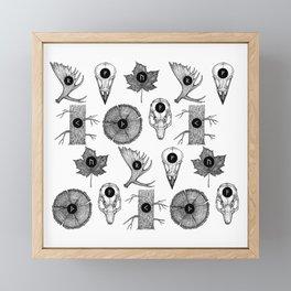 RUNES Framed Mini Art Print