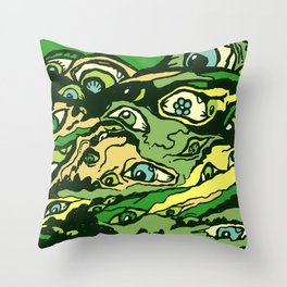 The hills have eyes Throw Pillow