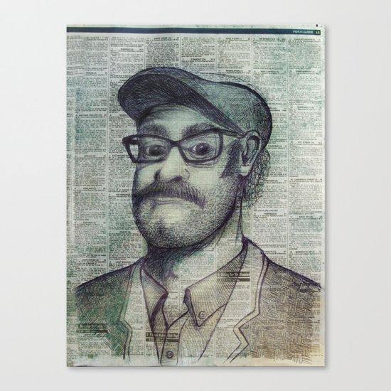 the punter Canvas Print