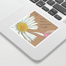 Je t'aime...un peu...beaucoup Sticker