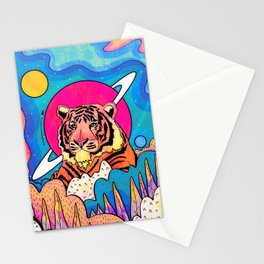The space tiger Stationery Cards