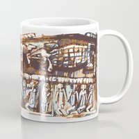 african Mugs featuring african by Silvia Gentilini