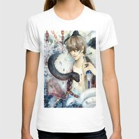devil T-shirts featuring Devil by Sinvia Doanh Doanh