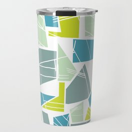 Abstract Architecture Travel Mug