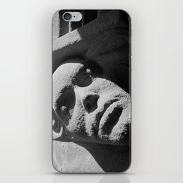 Face from Iona Abbey iPhone Skin