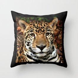 Jaguar Throw Pillow