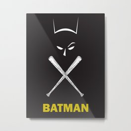 bat man Metal Print