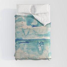 Miami Beach Watercolor #6 Comforters