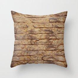 Gold Bars Throw Pillow