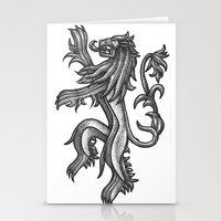 lannister Stationery Cards featuring A Lannister Always Pays His Debts by Michael Wybrow
