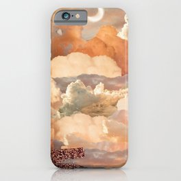 Dreamy Sunset Collage iPhone Case