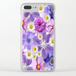 Floral Bouquet Clear iPhone Case