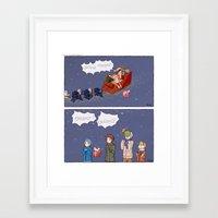 haikyuu Framed Art Prints featuring Haikyuu!! Christmas by Natalie Art