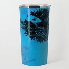 Blowgun Fish Travel Mug