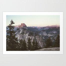 Great Nights in Yosemite Art Print