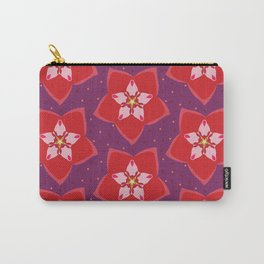 Hoya Red Carry-All Pouch
