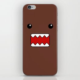 Domo Kun - Brown Japanese Monster iPhone Skin