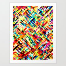 Summertime Geometric Art Print