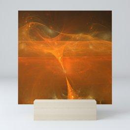 ZoooooZ Sandstorm in Desert Mini Art Print