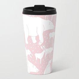 Polar gathering (powder rose) Travel Mug