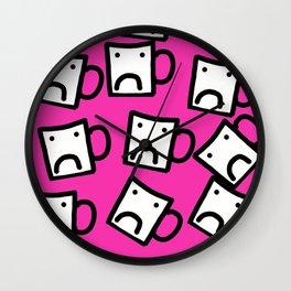 Don't be a mug! Wall Clock