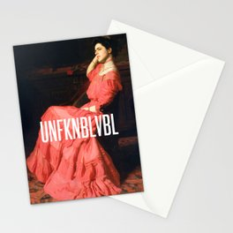 UNFKNBLVBL, Feminist Stationery Cards