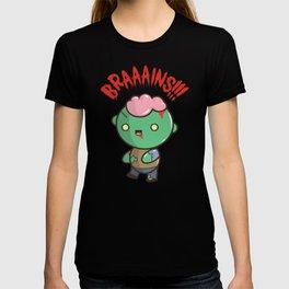 Zombie Kawaii | BRAAAINS!!!! BRAINS!! Halloween T-shirt
