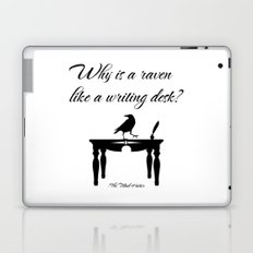 Alice In Wonderland Why Is A Raven Like A Writing Desk Laptop & iPad Skin