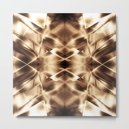 Geometric abstract disign Metal Print