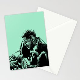 The Black Suit Stationery Cards