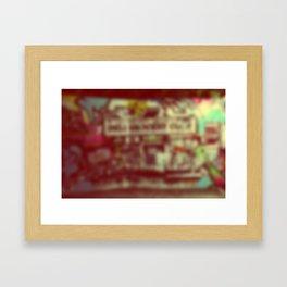 Wynwood Miami Art Blurred Framed Art Print