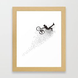 Superman MTB Framed Art Print