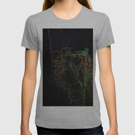 Ink manipulation T-shirt